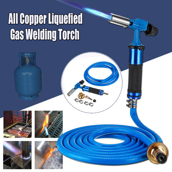 Electronic Ignition Liquefied Gas Welding Torch Kit with 3M Hose Soldering