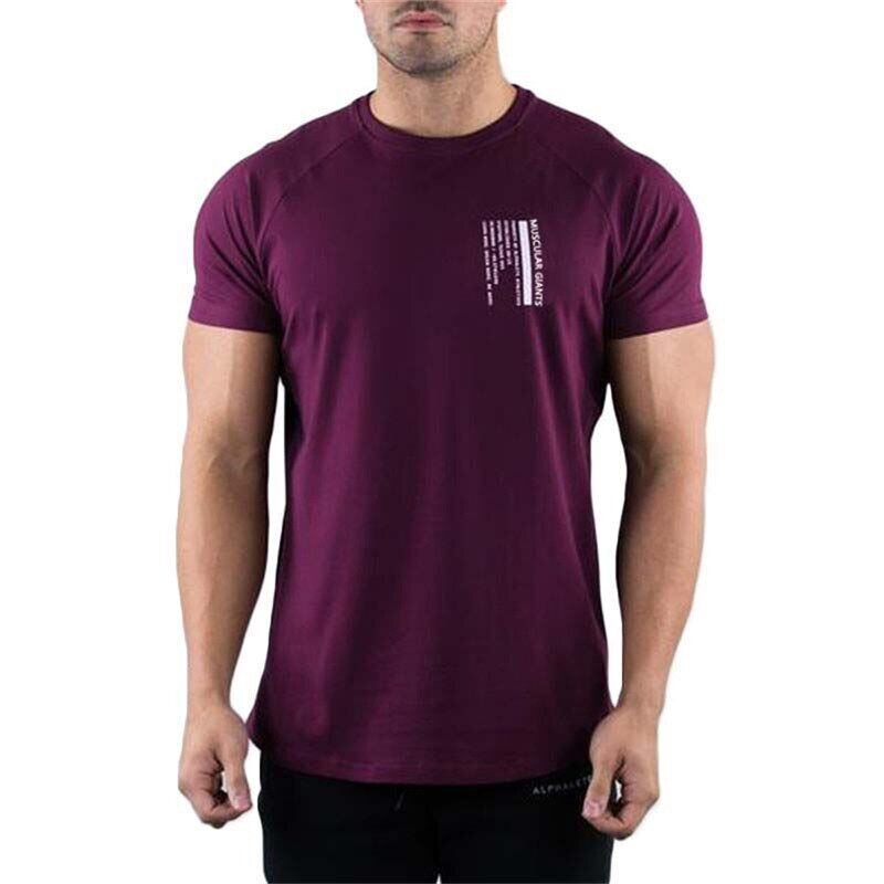 Summer Breathable T Shirt 2019 Men Fashion Printing T-Shirt Black T Shirts Loose O-Neck Fitness Cotton Shirt Xxl