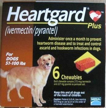 Heartguard Plus Chewables (brown) 51-100lbs By Premium Pets Outlet [ppo].