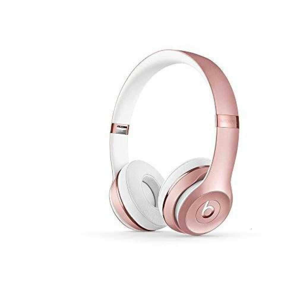 ready stock Beats_Solo3 Wireless On-Ear Headphones - Rose Gold