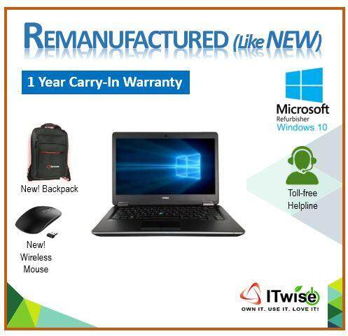 REMANUFACTURED DELL LATITUDE E7440 CORE Intel Core i5 (4th Gen) 4300U (NOT REFURBISHED - ITWISE) Malaysia