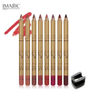 Bộ 8 cây bút chì kẻ viền môi chuyên nghiệp Imagic không thấm nước và lâu trôi - INTL thumbnail