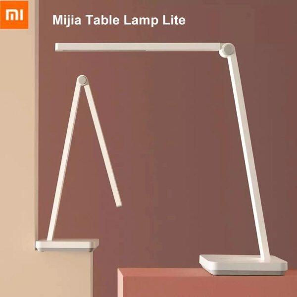 Xiaomi Mijia Đèn Bàn Lite Thông Minh Mi Bàn LED Đèn Bảo Vệ Mắt 4000K 500 Lumens Mờ Đèn Bàn Đèn Ngủ