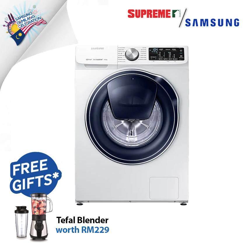 Samsung (WW90M64FOPW) 9kg Front Load Washer with QuickDrive Digital Inverter Washing Machine