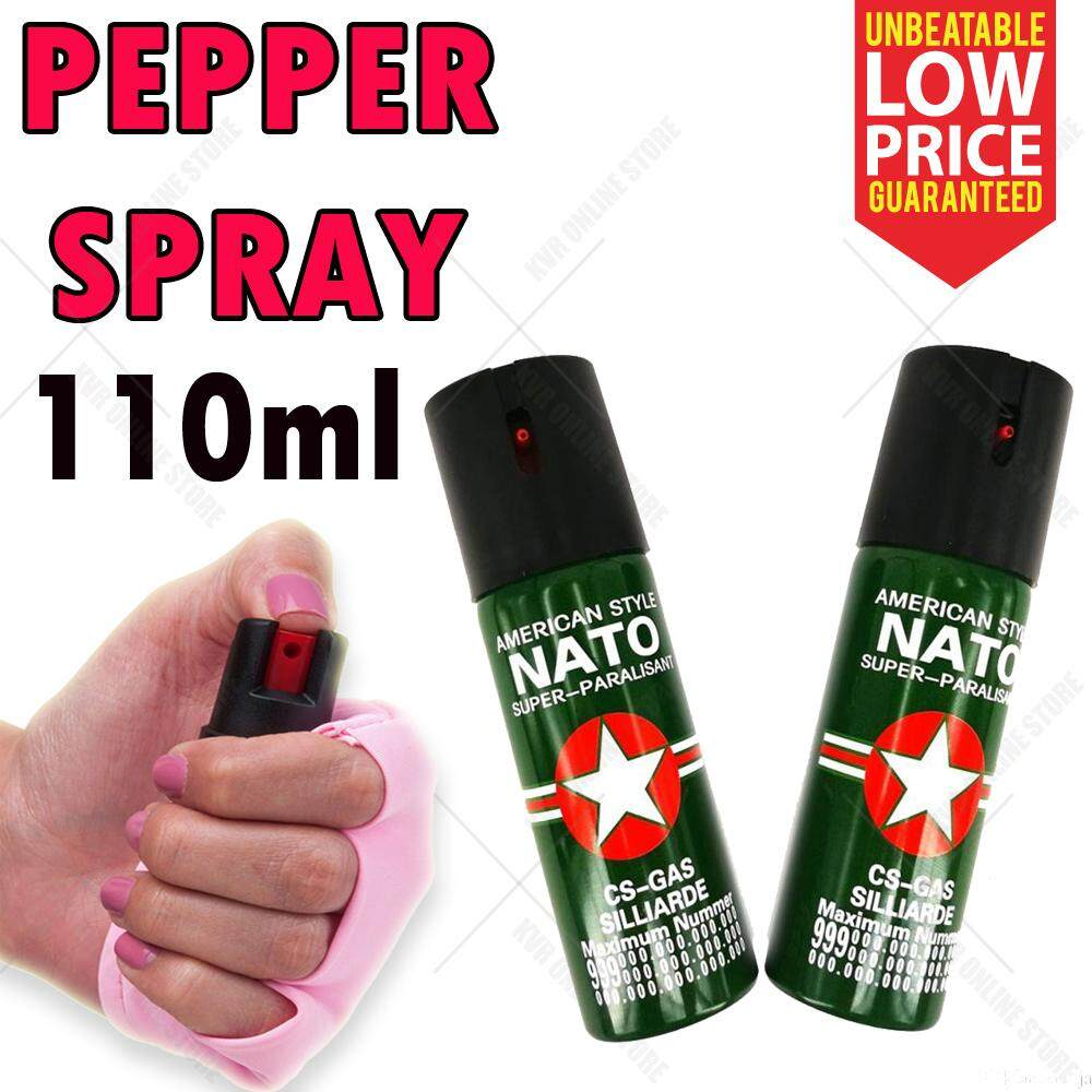 Self Defense Device 110ml for personal protection