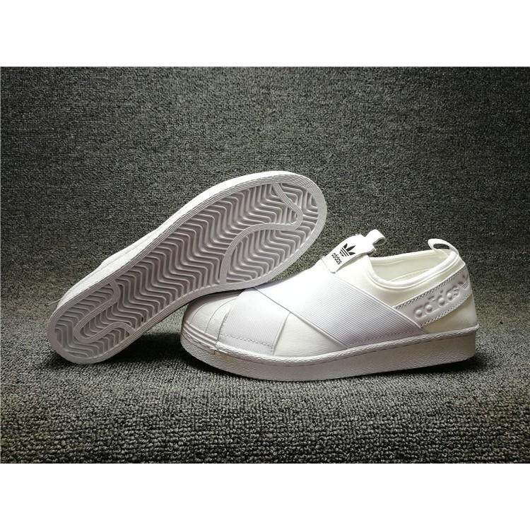 Ready Stock Adidas blade SUPERSTAR SLIP ON the all-white Y3 men/women shoes36-44
