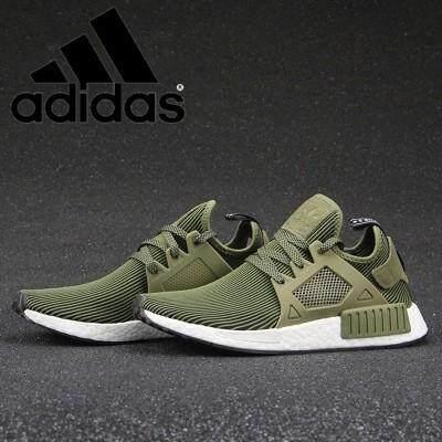 ยี่ห้อไหนดี  ตราด 【Ready_Stock】Adidas_Orignals_NMD_XR1_S32217_army_green_running_shoes