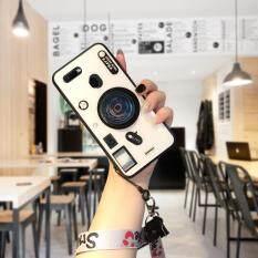 Hontinga dành cho OPPO F9/A7X/F9 Pro/Realme 2 Pro/Realme U1 Ốp Lưng, 3D Máy Ảnh, Ống Kính Dây Đeo Dây Buộc Chân Đỡ Kính Cường Lực Lưng Vỏ (Ống Kính POP Giá Đỡ Dây Đeo Giao Ngẫu Nhiên)
