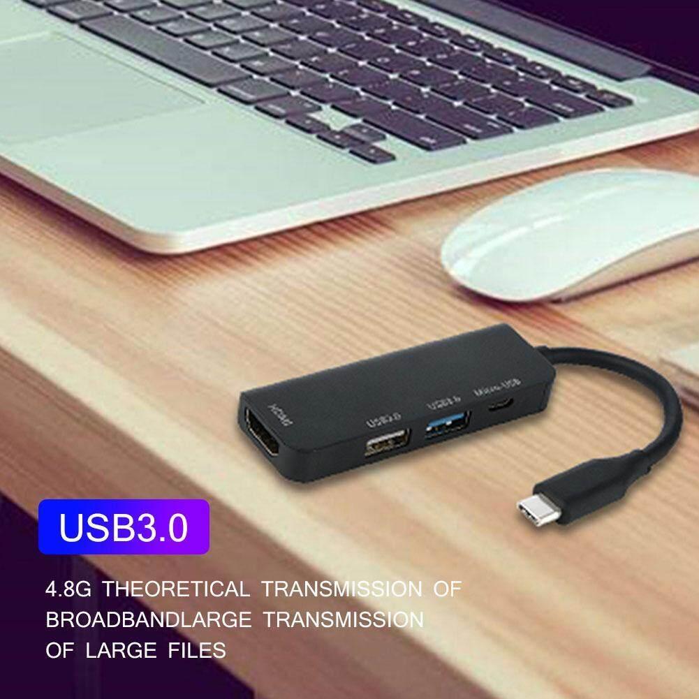 1080 P Loại-C HUB CHIA USB2.0/USB3.0/HDMI/Micro USB cho Điện Thoại MÁY TÍNH