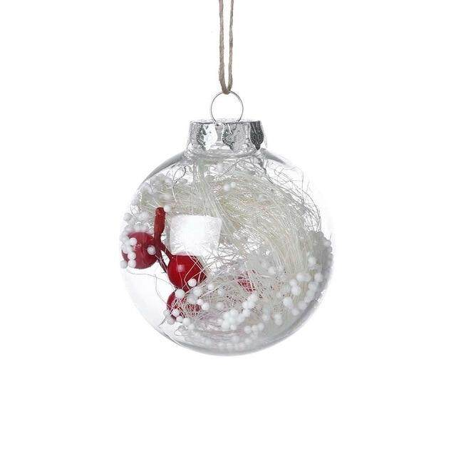Christmas Tree Drop Ornaments Xmas Pendant Hanging Ball Decorations For Home Decoration Crafts Miniatures navidad kerst 2020 K25