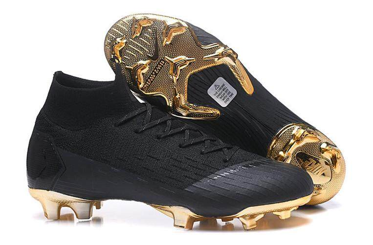 the latest 9539e 7435b Nike Official MEN Football Shoes High Quality Mercurial Superfly VI 360  Elite FG Flyknit (Size