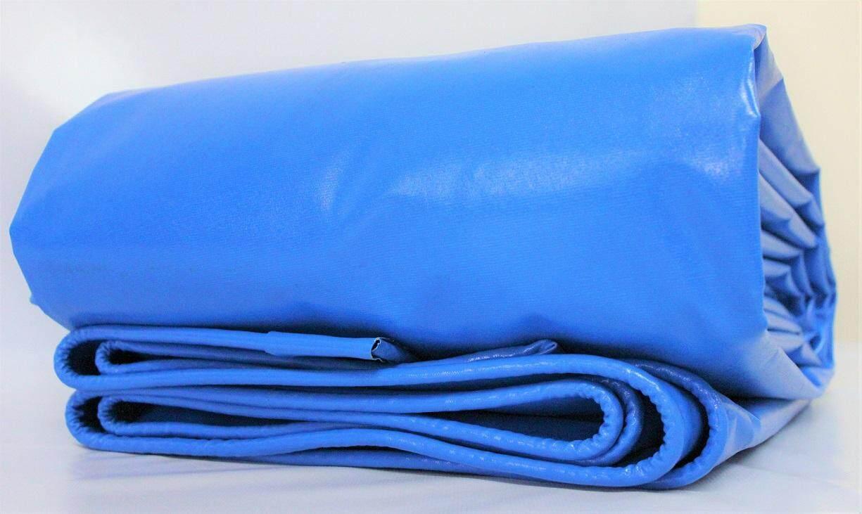 Super A Nylon 8ft X 15ft Blue Pvc Tarpaulin Vinylon Ready Made Heavy Duty Cover Lorry Canvas Outdoor Waterproof Fishing Pond Fish Emergency Temporary Water Tank Construction Awning Sidewall. Kanvas Biru 8 X 15 Kaki Seuai Utk Buat Kolam Ikan Tangki By Heritage Index.