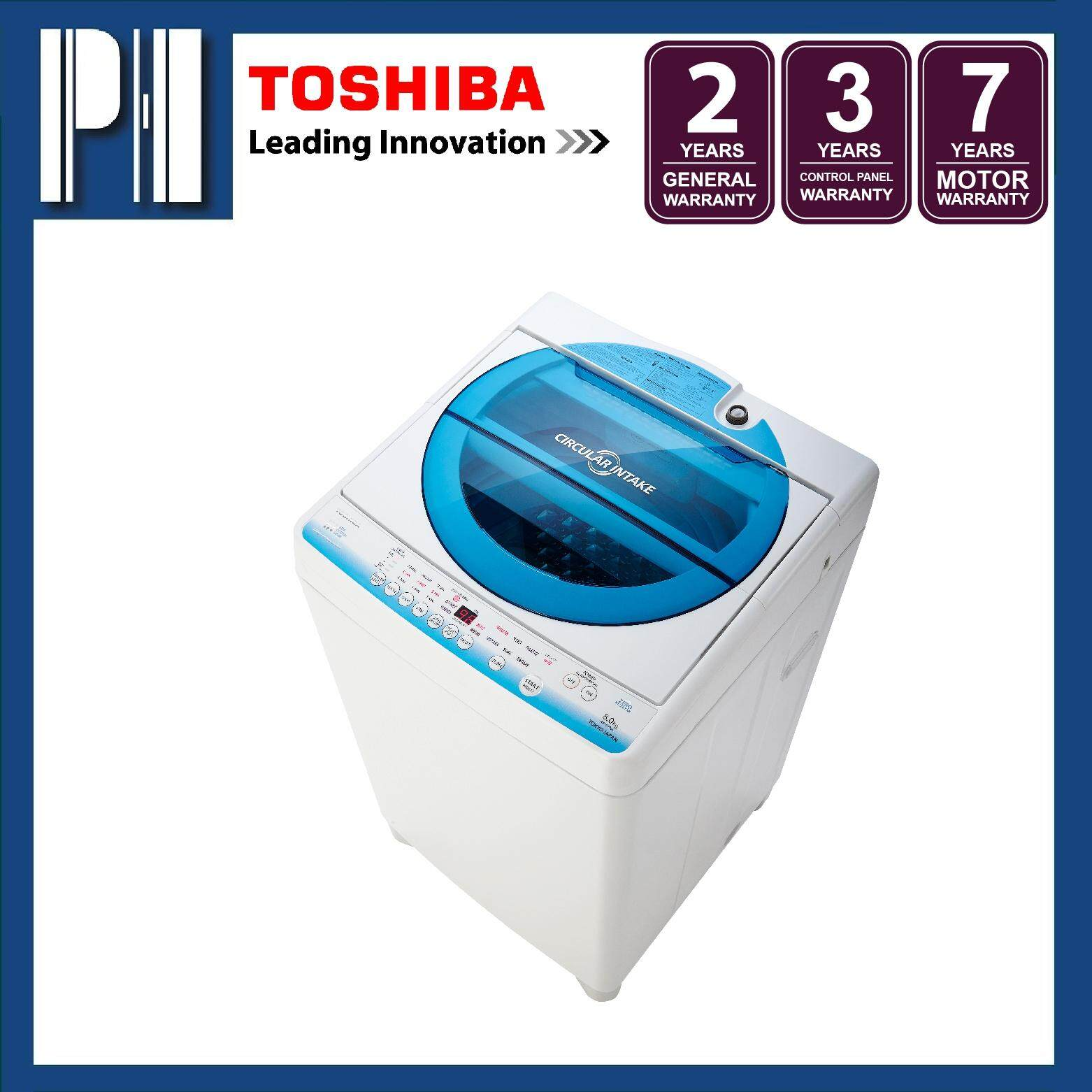 TOSHIBA AW-E900LM(WB) 8.0KG Fully Auto Washing Machine/Washer