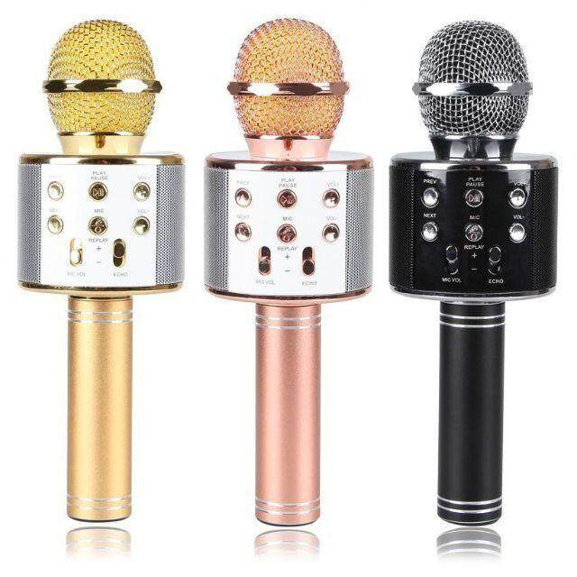 Wster Ws858 Bluetooth Wireless Microphone Karaoke Hifi Speaker By Edecom126.