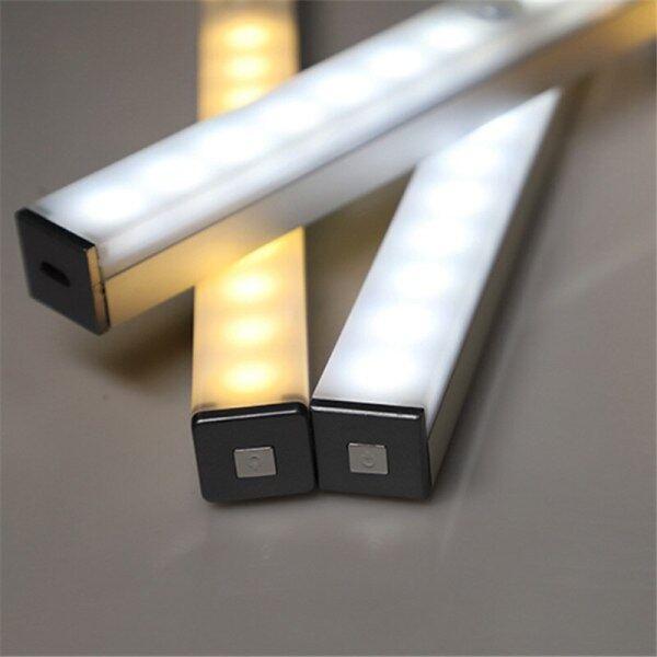 Bảng giá Đèn LED Cảm Biến Chuyển Động PIR 14/20 LEDs, Dải Đèn Dưới Tủ Dài 21/29Cm Từ Tủ Quần Áo Đèn Đèn Ngủ Dưới Tủ
