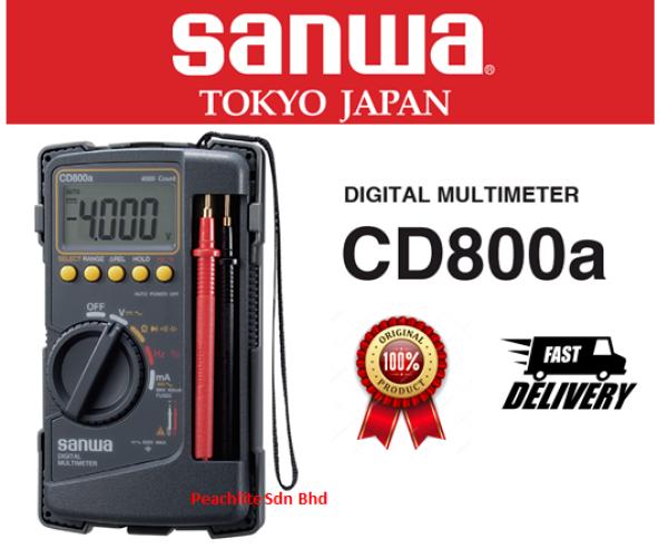Sanwa CD800a Digital Multimeter AC/DC Voltmeter