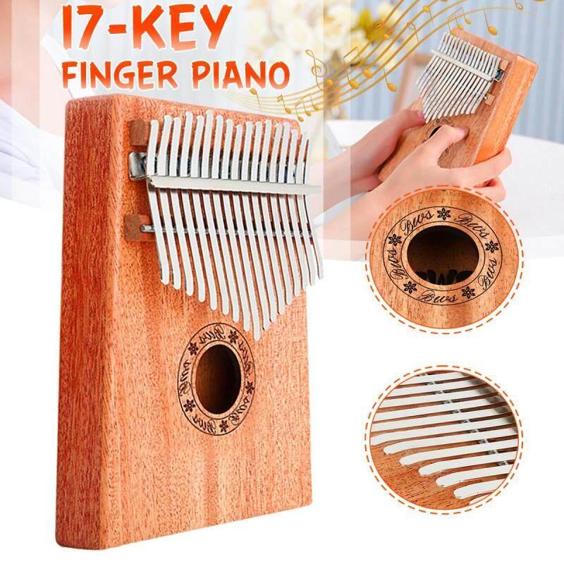17Keys Wooden Kalimba Finger Thumb Piano Education Musical Instrument Toy Gifts Malaysia