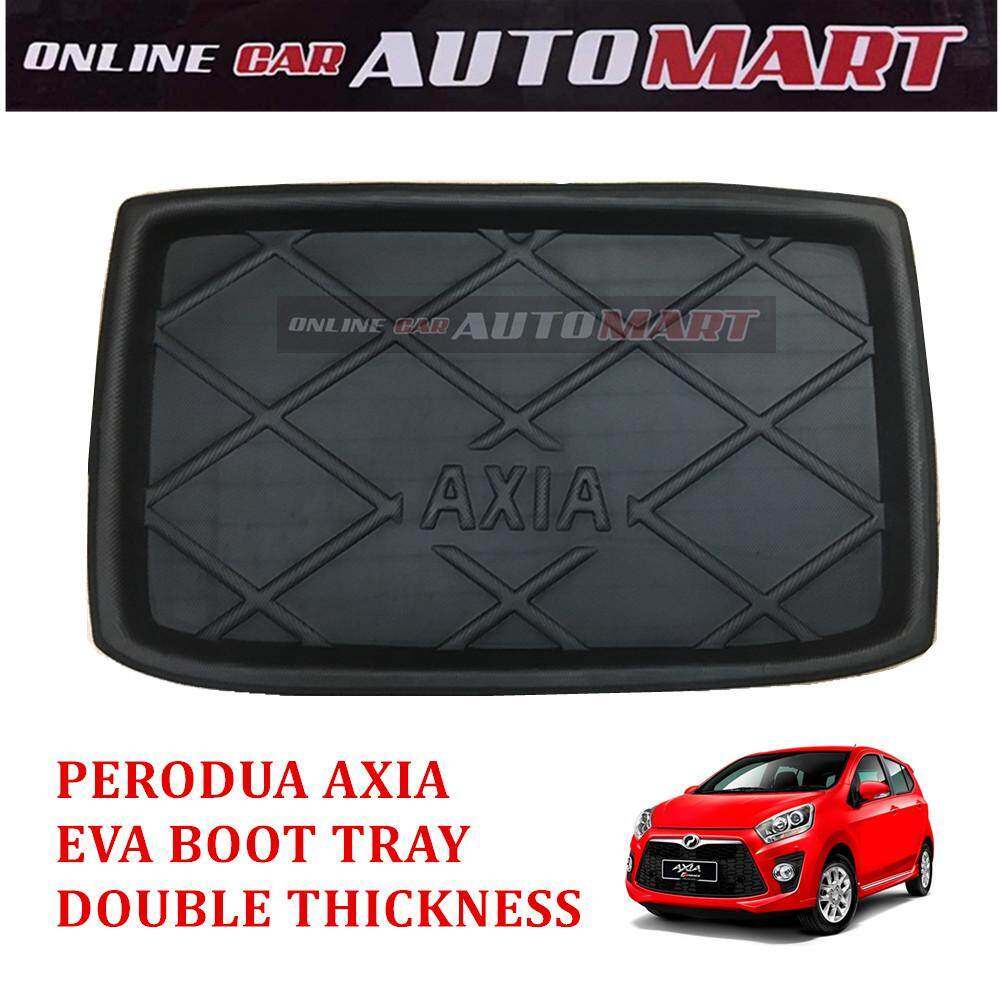 New Car Rear Cargo Mat Auto Trunk Mat Boot Tray Liner Protector Floor Dustproof Carpet Pad For Perodua Axia By Online Car Accessories.