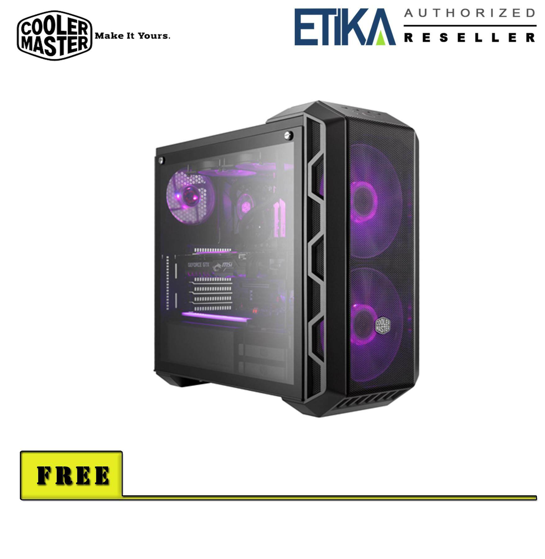 Cooler Master MasterCase H500 HAF Mid Tower Chassis [P/N : MCM-H500-IGNN-S00] Malaysia