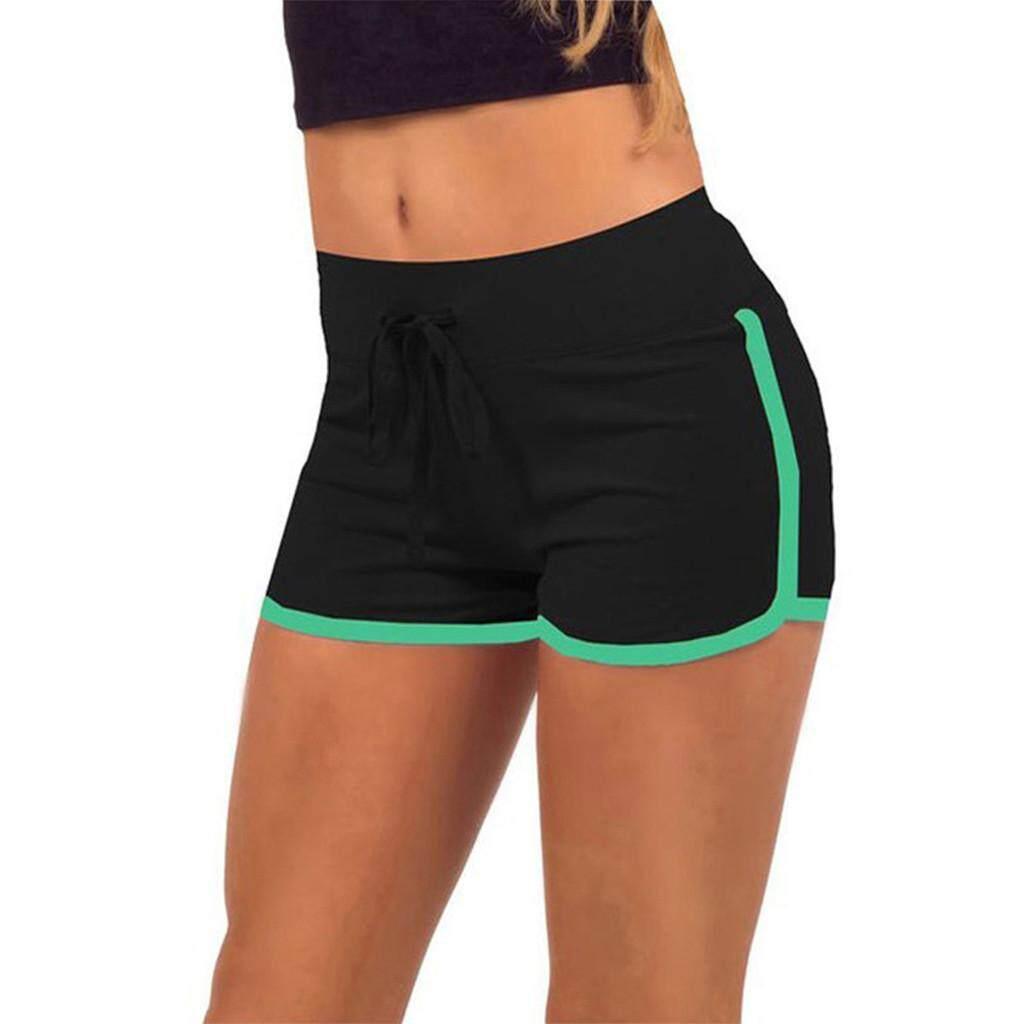 7d95e0438304a Women Sports Shorts Casual Ladies Beach Summer Running Yoga Hot Pants