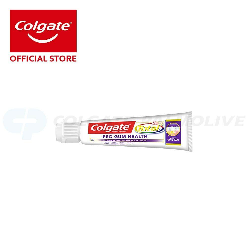Colgate Total Pro Gum Health Toothpaste 20g Travel Sample Trial