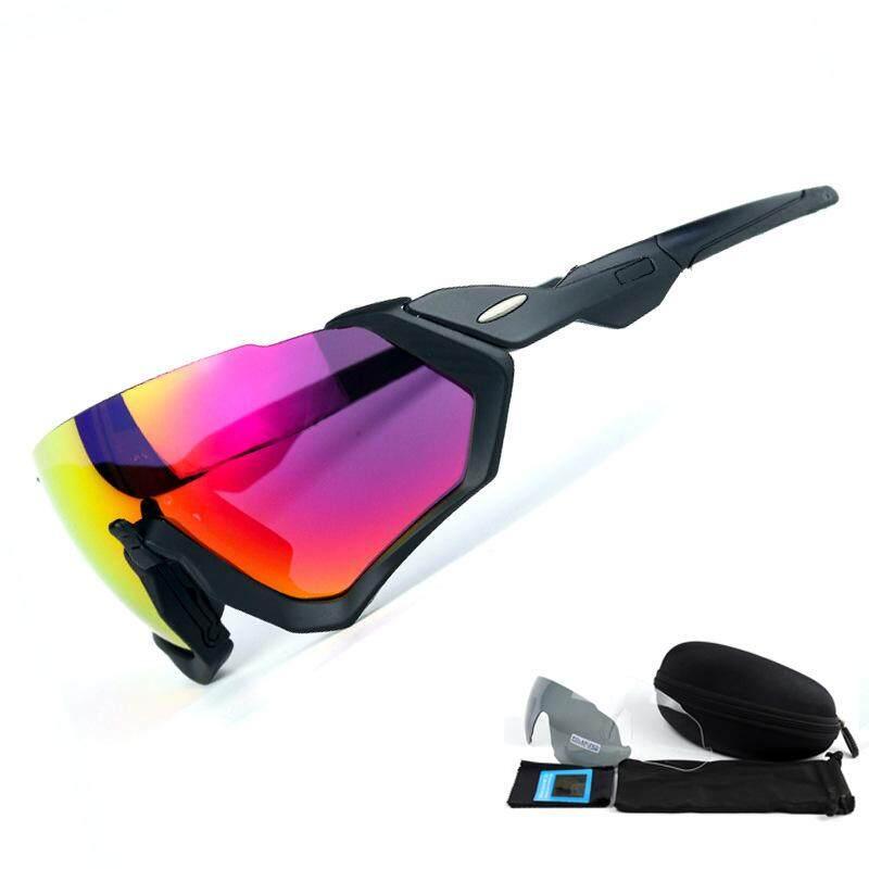 O Remember 9401flight Jacket Riding Mirror Polarized Outdoor Sports Mirror Three-piece Sunglasses