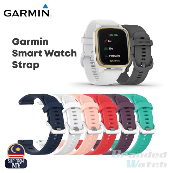 Garmin Silicone Watchband Bracelet for Garmin Venu Sq Music / Forerunner 645 245 245M Smart Watch Strap Wristband Malaysia
