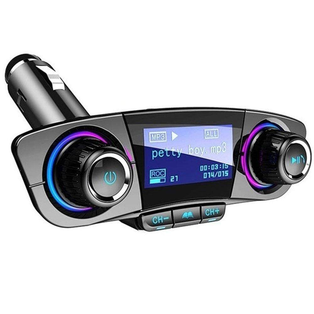 Car FM Transmitter Wireless Radio Adapter Bluetooth Receiver Smart  Universal Automobile Music FM Transmitter FM Adapter