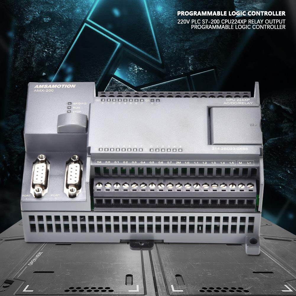 220V PLC S7-200 CPU224XP RELAY Output Programmable Logic Controller