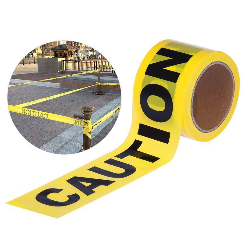 UEETEK 100M Barricade Caution Tape Warning Tape for Law Enforcement Construction Public Works Safety