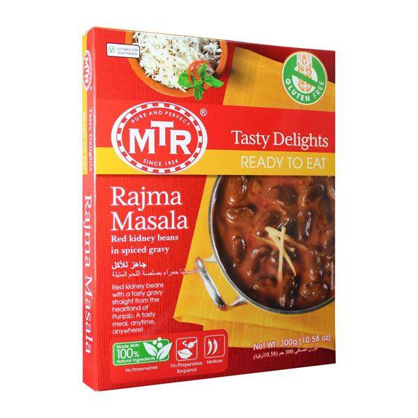 MTR Ready To Eat Rajma Masala 300g Heat & Eat Red Kidney Beans Gravy