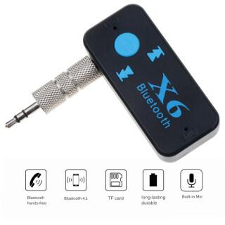 3 Trong 1 Bộ Thu Âm Thanh Bluetooth Đầu Thu USB 4.1 3.5 Mm AUX Rảnh Tay Mp3 Âm Nhạc Phát Thẻ TF đầu Đọc Cho Xe Ô Tô thumbnail