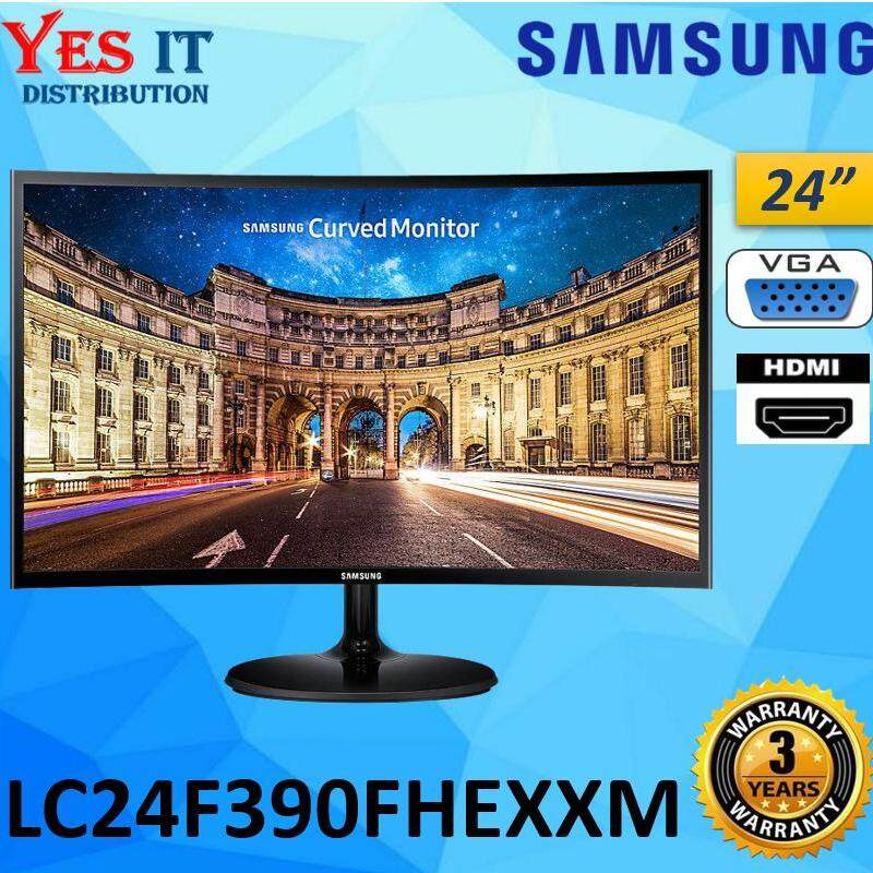 Samsung 24 LC24F390FHEXXM FULL HD 1920x1080 Curved LED Monitor (HDMI & VGA) Malaysia