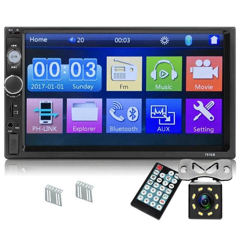 Upgrade 7010B 2 Din Car Radio 7 inch Player Mp5 Press Screen Bluetooth  Multimedia Mirror Android Autoradio Car Backup Camera Monitor