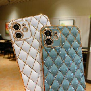 Ốp Lưng Điện Thoại Mạ Vàng Sang Trọng HOCE Ốp Mini Cho iPhone 12 Pro Max 12 Ốp Silicon Vòng Đeo Tay Mạ Điện Kim Cương, Ốp Cho iPhone 11 Pro Max 8 7 Plus XR XS X SE 2020 6 6s Plus thumbnail