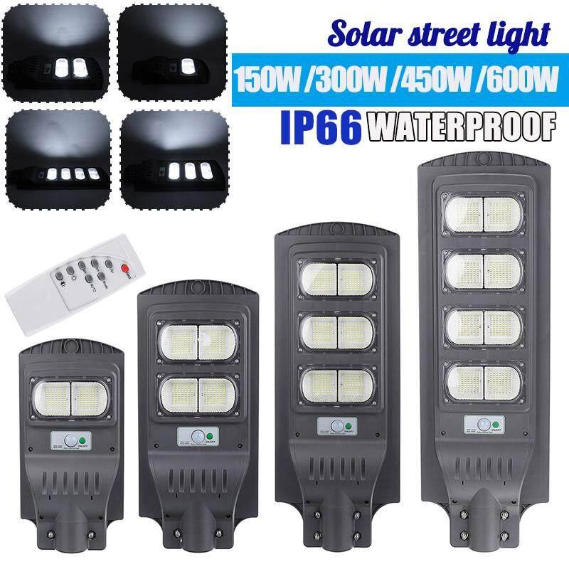 AUGIENB Waterproof Street Light Solar Panel 6500K ~ 7000K Cool White 420 LEDs High-brightness For Street/ Outdoor wall/ Garden/ Courtyard/ Street/ Walkway/ Pathway