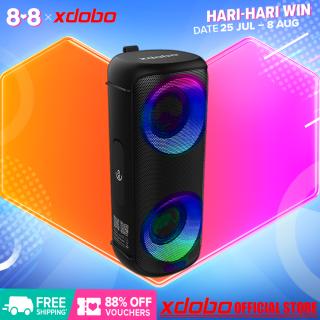 XDOBO Vibe Loa, Sản Phẩm Mới Nặng 2021 Bluetooth 5.0 Ánh Sáng Xung Quanh 64 Màu Loa Siêu Trầm Trẻ Trung Và Thời Trang thumbnail