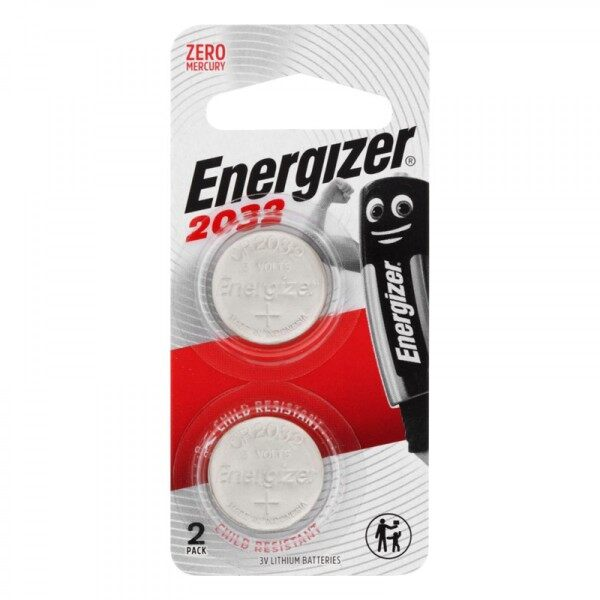 ENERGIZER Cell Lithium CR2032 CR2025 CR2016 Battery (2pcs)