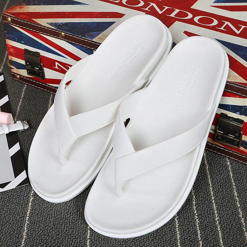 f2f6df198 2019 Ladies Summer Leisure Pure Color Flip-Flop Non-Slip Flat Bottom  Holiday CLIP