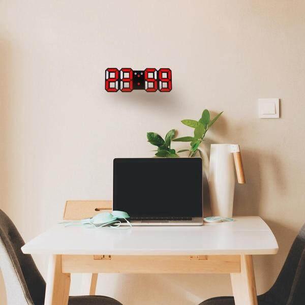 Đồng Hồ Kỹ Thuật Số Blesiya Để Bàn, Đồng Hồ Kỹ Thuật Số 3D Tiện Dụng Có Đèn LED Báo Thức Ban Đêm bán chạy