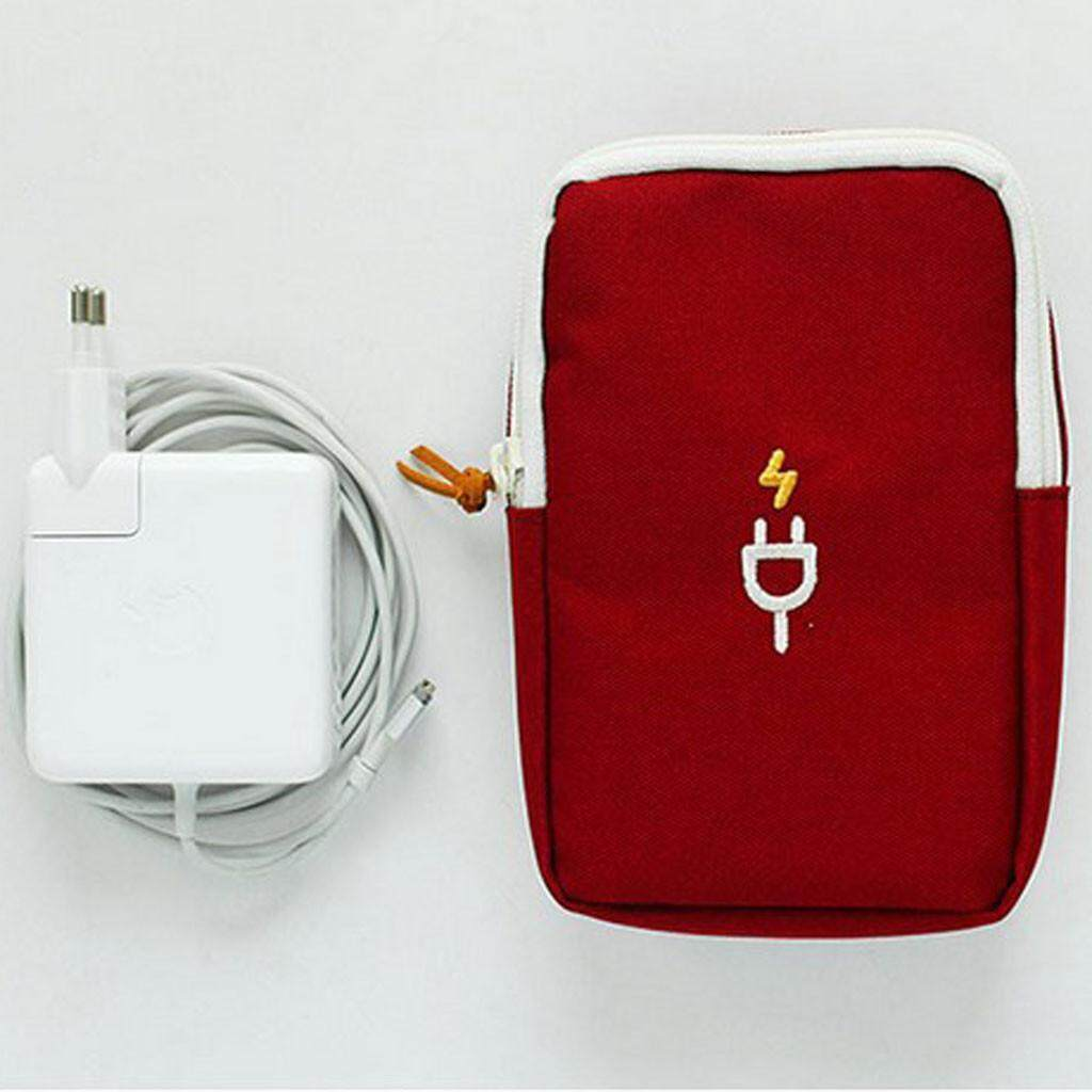 Travel Portable Charger Headset Finishing Package Digital Package Storage Bag