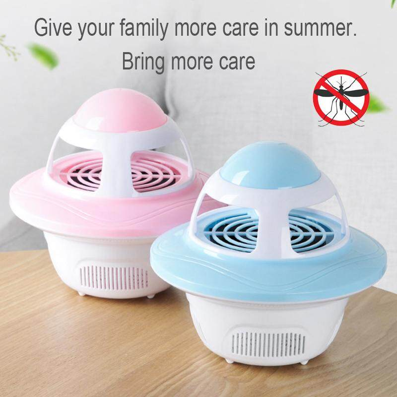 MayLer Store Radiation-Free 5V/5W Thermostatic Heating Universal Mosquito Trap Electronic Mosquito Lamp USB Mosquito Killer Environmental Protection Office Portable Summer