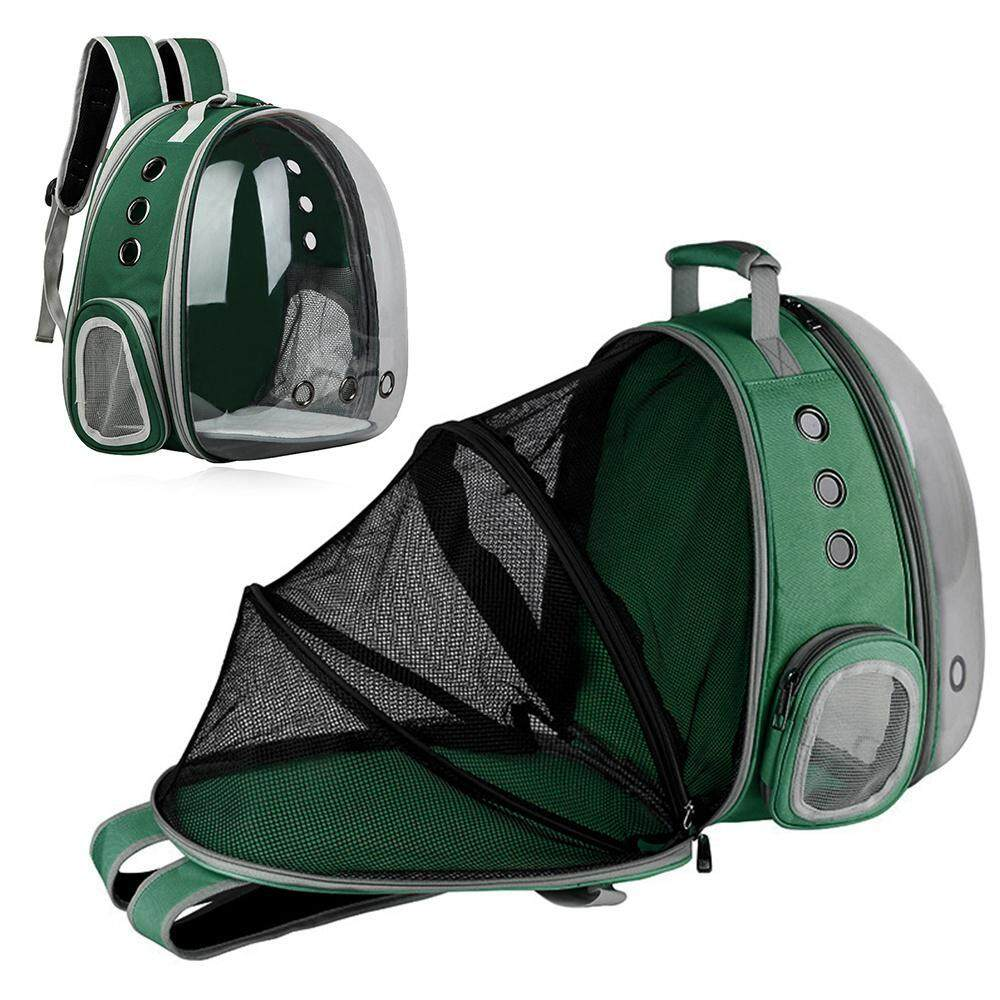 Goodgreat New Upgrade Foldable Pet Backpack,space Capsule Transparent Pet Carrying Backpack,travel Dog Cage Cat Cage By Good&great.