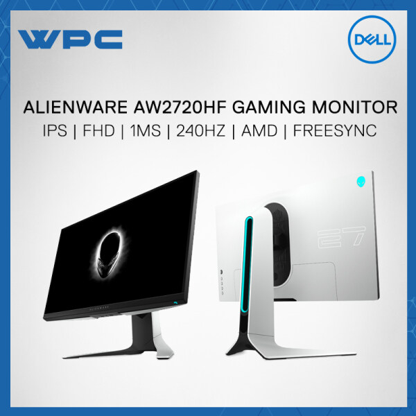 Alienware AW2720HF 27 IPS FHD 1MS 240HZ AMD FREESYNC Gaming Monitor Malaysia