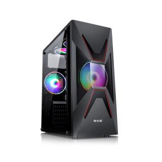 KKmoon Vỏ Máy Tính Để Bàn Vỏ Máy Tính Trong Suốt ATX Xem Toàn Bộ Mặt Hỗ Trợ ATX Micro ATX Mini ITX Bộ Làm Mát CPU 155Mm Card Đồ Họa 350Mm thumbnail