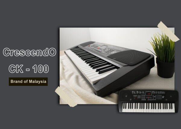 Crescendo CK-100 54 Keys Multifunction Electronic Portable Keyboard Malaysia