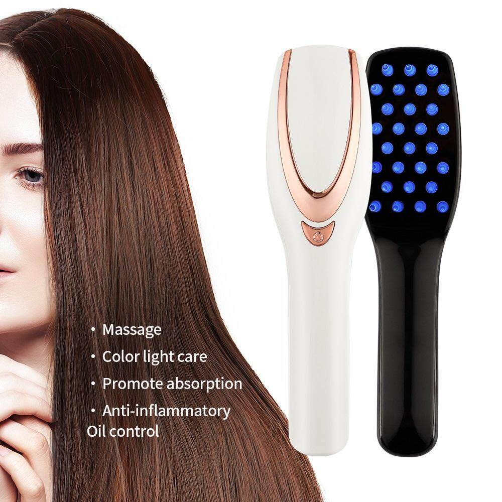 Hair Growth Care Treatment Laser M assage Comb Vibration Hair Comb Ma ssage Equipment Comb Hair Brush Grow Laser Hair Loss Therapy cao cấp