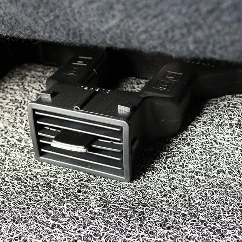 Car Back Seat AC Outlet Air Vent Extension Tube for Subaru Forester XV Outback