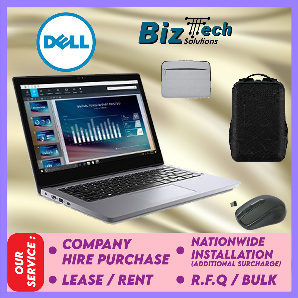 Dell Latitude 3310 2-in-1 [FREE Backpack+Mouse+Sleeve] Commercial Laptop Leasing Rental Hire Purchase Installment Malaysia