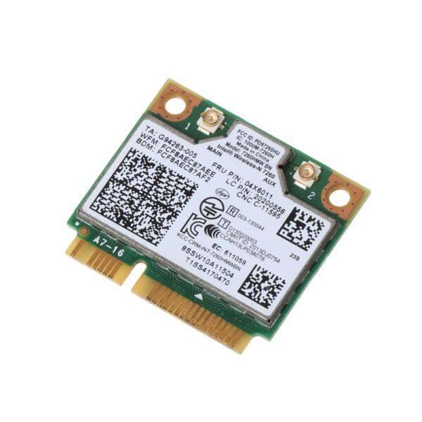 Giá Intel Không Dây 7260NGW Bluetooth 4.0 BN Wifi NGFF Thẻ WLAN 300M 04X6011 04W3815 Cho Lenovo ThinkPad